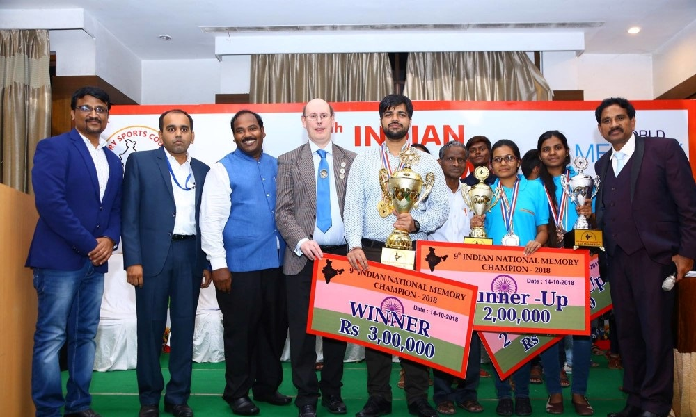 Indian National Memory Championship 2018