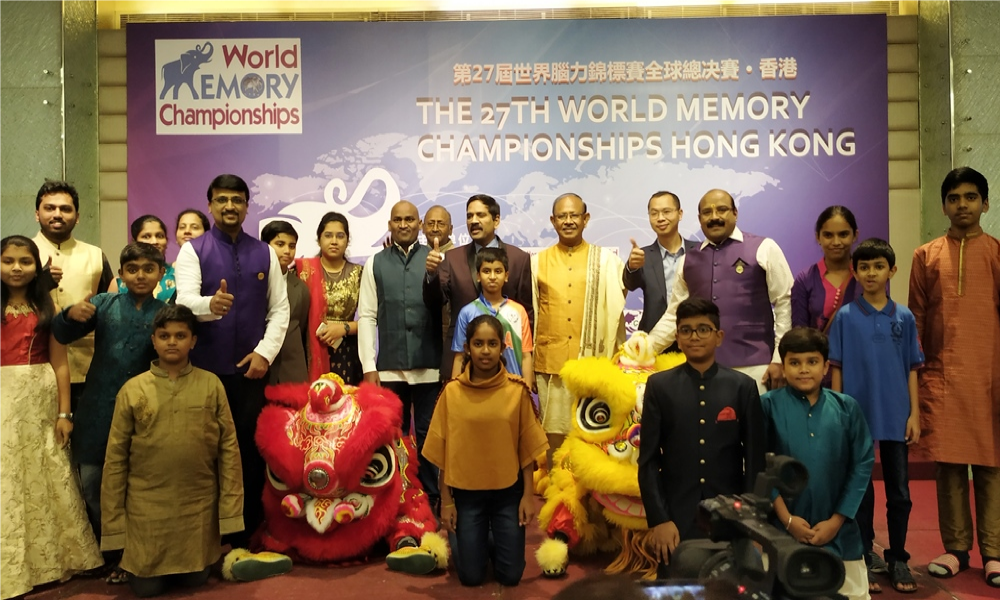 World Memory Champs HongKong
